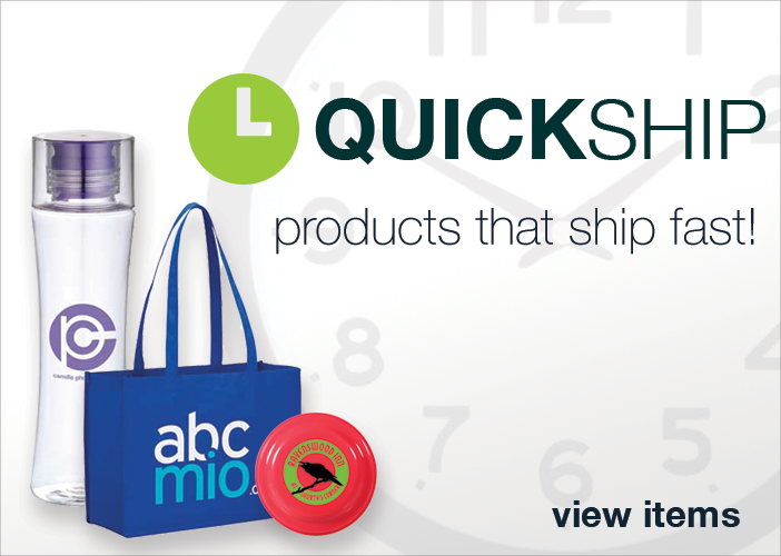 Quick Ship - Products that ship fast!