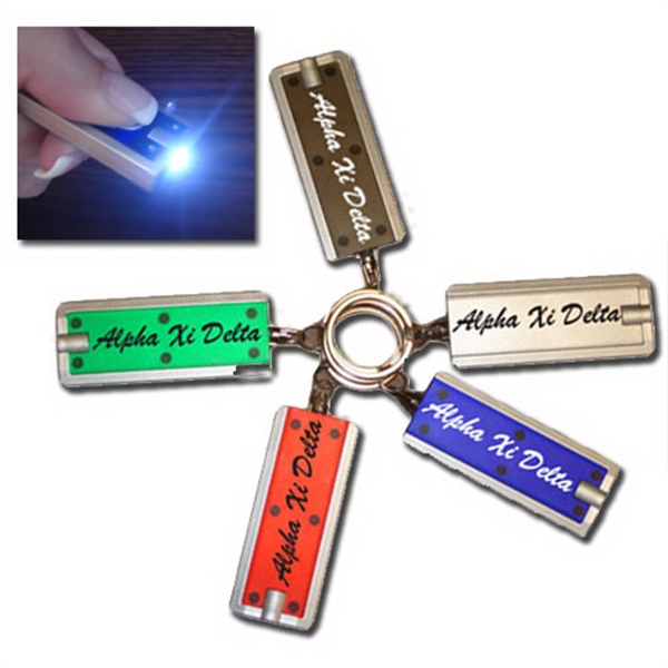 "2"" premium LED key chain"