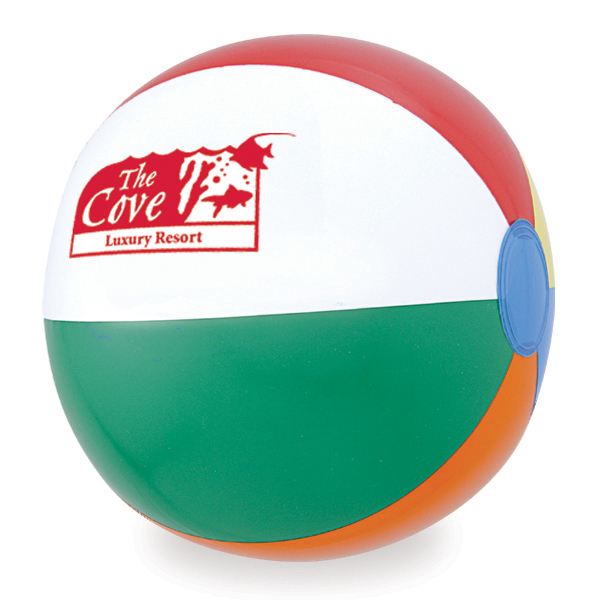 "12"" Small Assorted Panels Beach Ball"