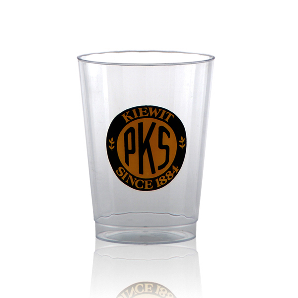 Clear Fluted Plastic Cup 10oz