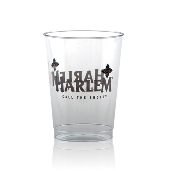 Offset Clear Plastic Cup 10oz