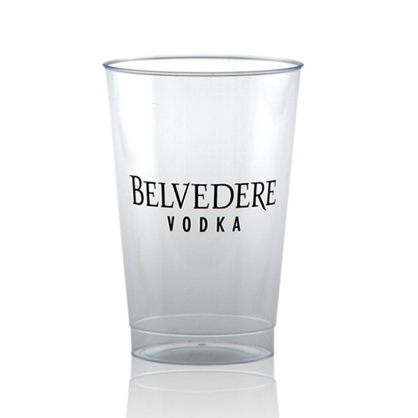 Offset Clear Plastic Cup 12oz