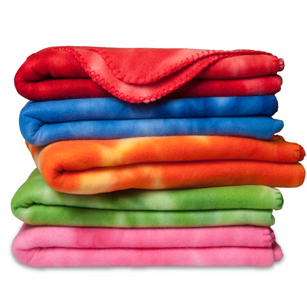 Crestwood - Polar Fleece Tie Dye Blanket