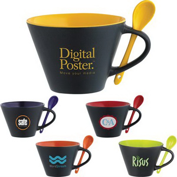 Rancho 16-oz. Mug with Spoon