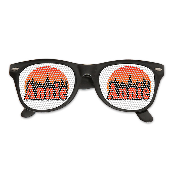 Pinhole Glasses with Clear Lens
