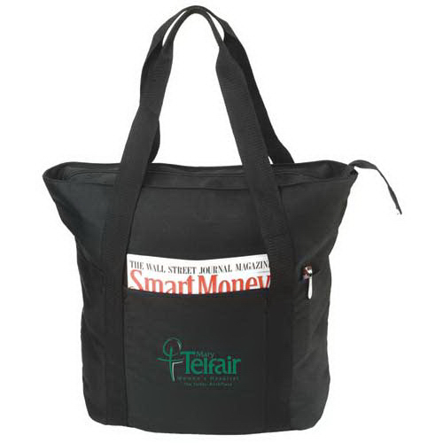 Eco-Friendly Recycled Zippered Tote Bag
