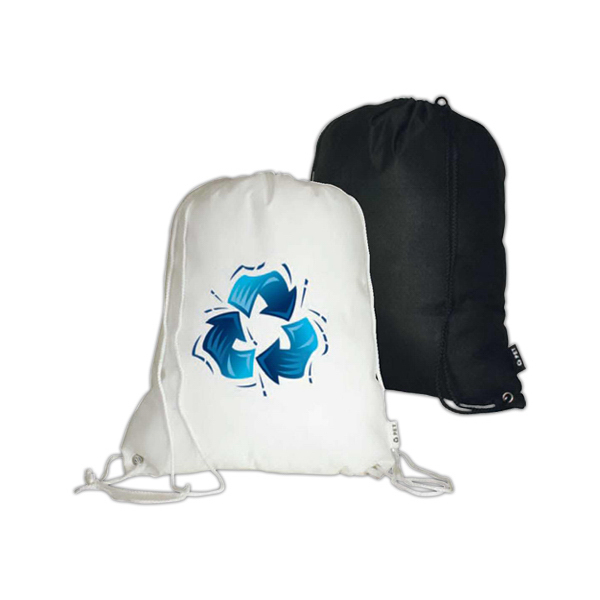 PET Non-Woven Drawstring Backpack (Clearance)