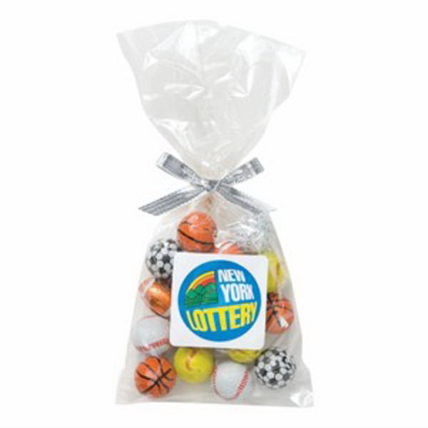 Mug Stuffer Bag / Chocolate Balls (4 oz)