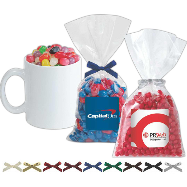 Mug Stuffer Bag / Chocolate Sport Balls (4 oz)