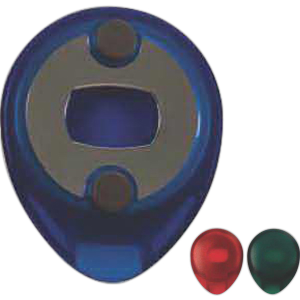 Discus Bottle Cap and Tab Opener with Refrigerator Magnets
