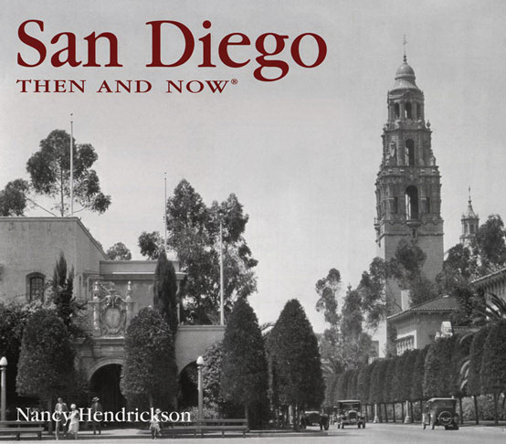 San Diego Then And Now Goimprints
