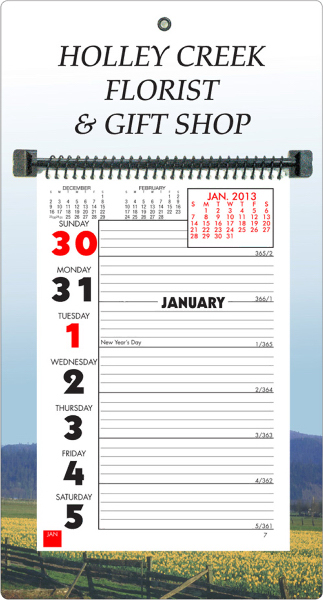 Weekly Memo Wall Calendar Request A Sample