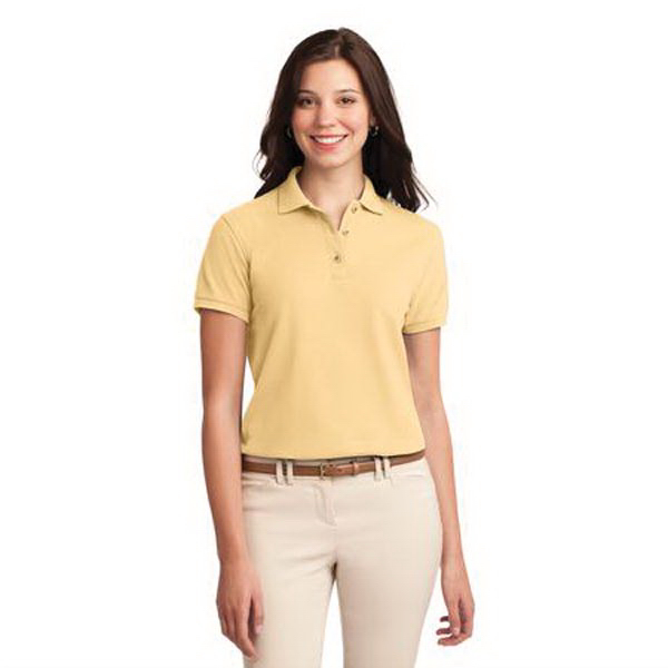 Port Authority (R) Ladies' Silk Touch Polo