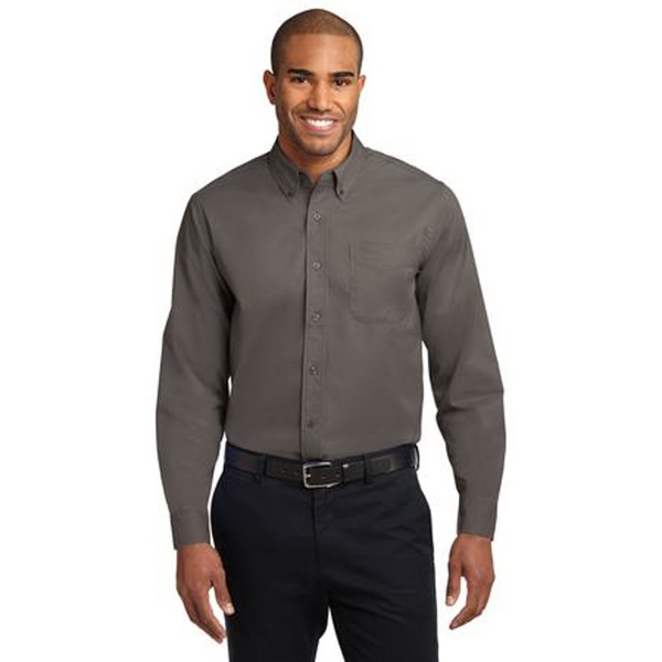 Port Authority (R) Long Sleeve Tall Size Easy Care Shirt