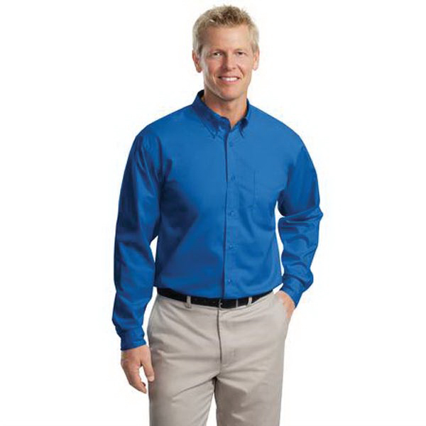 Port Authority (R) Long Sleeve Extended Size Easy Care Shirt