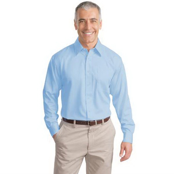 6594557ba Port Authority (R) Long Sleeve Non-Iron Twill Shirt - GOimprints