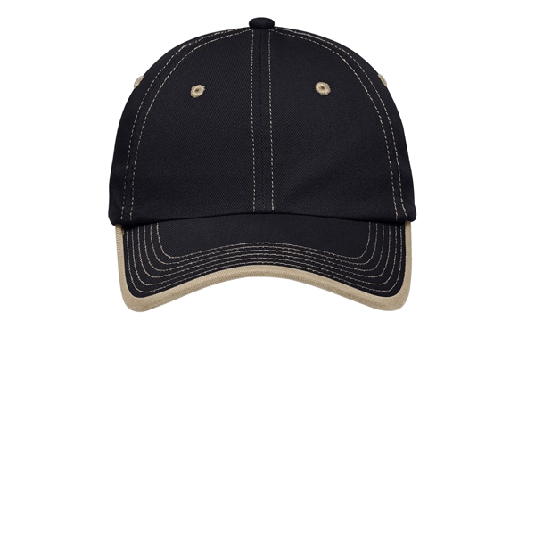 Port Authority R Vintage Washed Contrast Stitch Cap