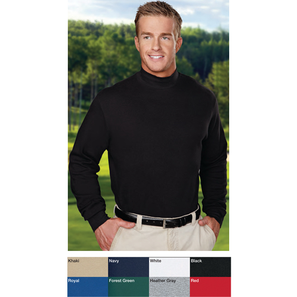 8de38f60d85 Graduate - Interlock Mock Turtleneck - GOimprints
