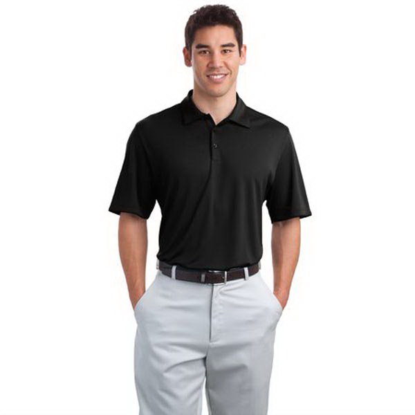 Port Authority (R) Poly Bamboo Charcoal Birdseye Polo