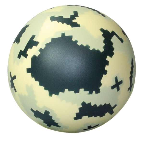 Squeezies (R) Digital Camo Ball Stress Reliever