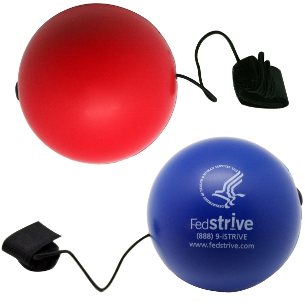 Squeezies (R) Bungie Ball Stress Reliever