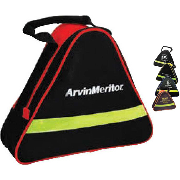 Heavy-Duty Triangle Bag with Reflective Safety Strip