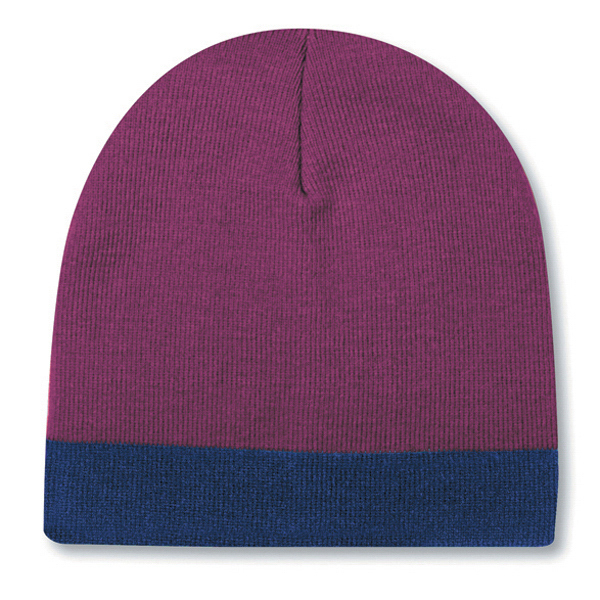 """8"""" Reversible Beanie with 1 1/2"""" Trim"""