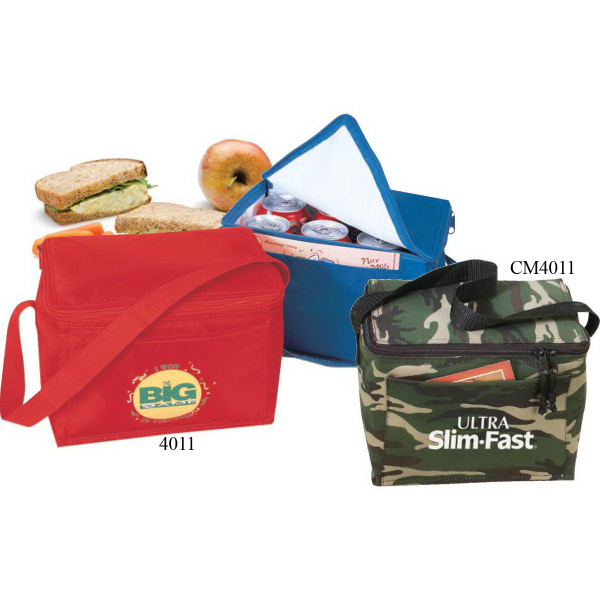 6-Pack Camo Green Poly Cooler