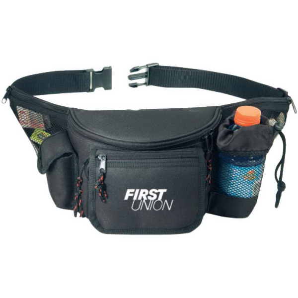 Seven Zippers Fanny Pack
