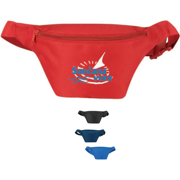 Poly One Zipper Fanny Pack