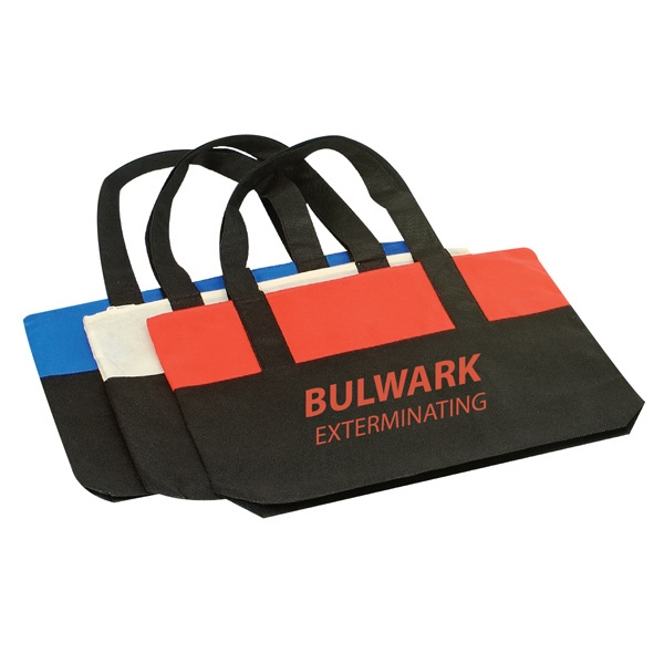 Non-Woven Polypropylene Totebag With Zipper