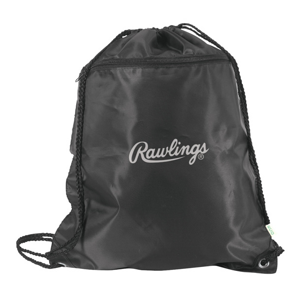 Eco-Friendly Recycled Drawstring Tote Bag