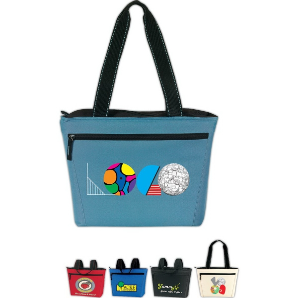 Two-Tone 12 Pack Cooler Tote