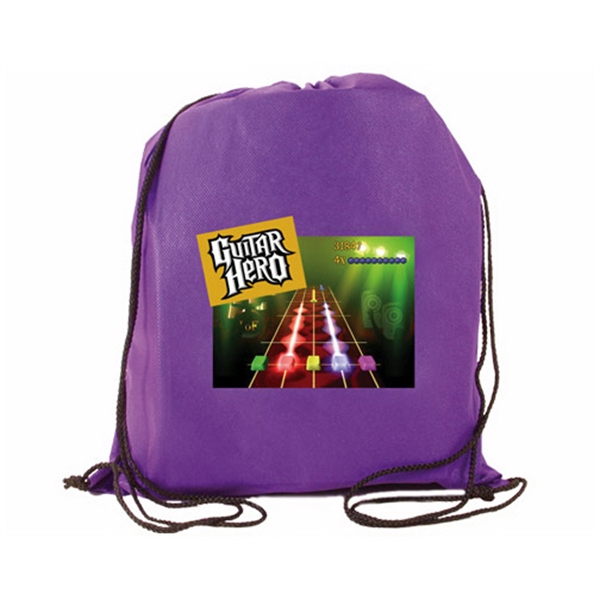 Non-Woven Drawstring Backpack, Full Color Digital