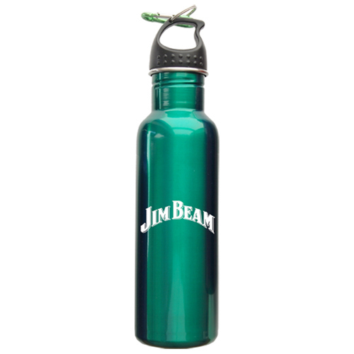25 oz Stainless Water Bottle with Carabiner