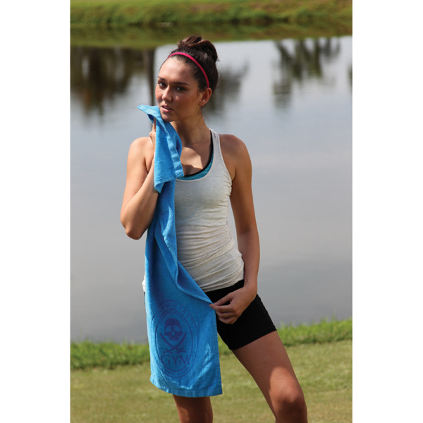 Fitness towel with CleenFreek (R)