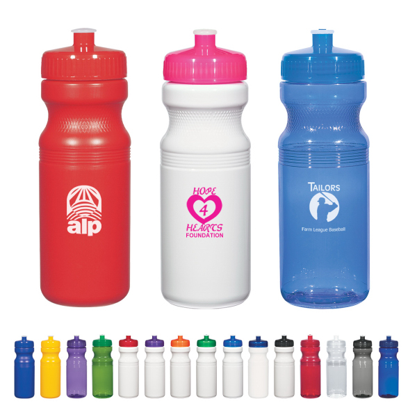 Poly-Clear (TM) 24 Oz. Fitness Bottle