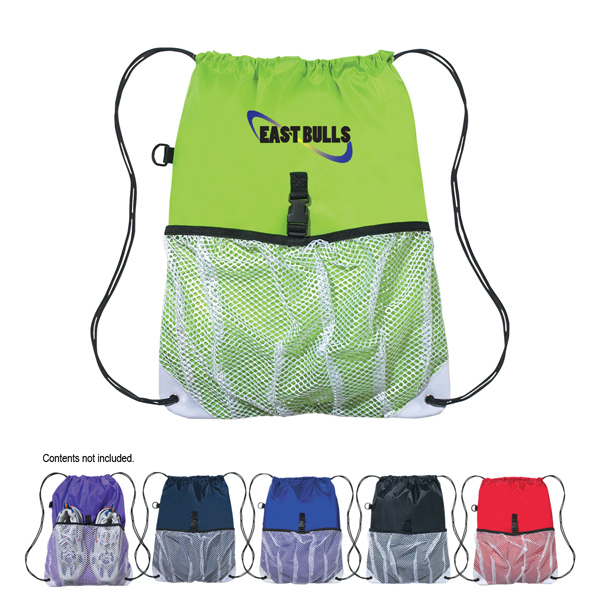 Discount Hit Sports Pack With Outside Mesh Pocket