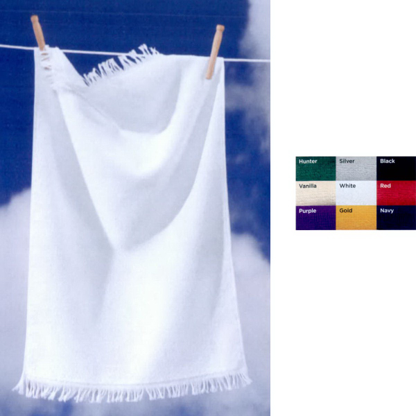 Towels Plus (R) by Anvil Fringed Hand Towel