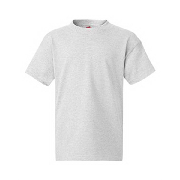 Tagless Youth 100/% Cotton T-Shirt S-XL  5450 Hanes