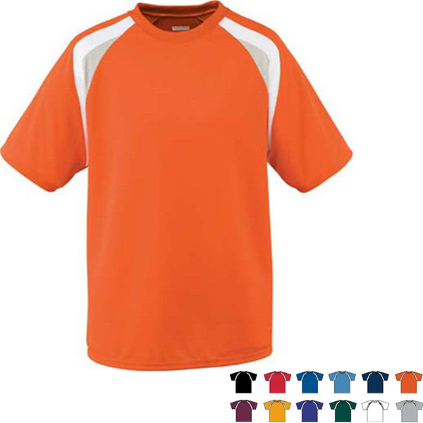 Wicking Mesh Tri-Color Adult Jersey