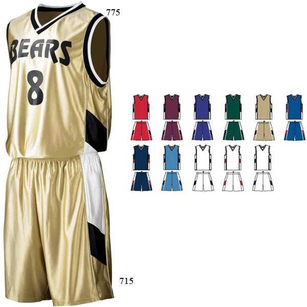 Adult Tri-Color Dazzle Game Jersey