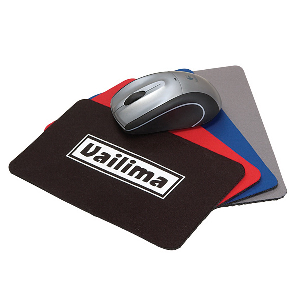 Mini Soft Rubber And Jersey Mouse Pad