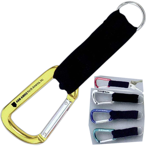 Carabiner Hook With Keyring and Strap
