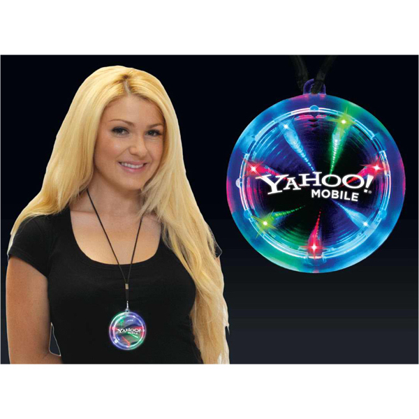 Deluxe light up infinity tunnel necklace