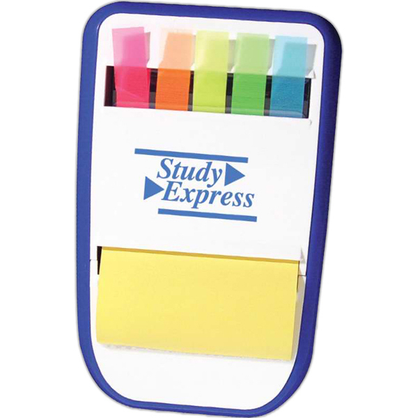 Sticky notes and flags dispenser