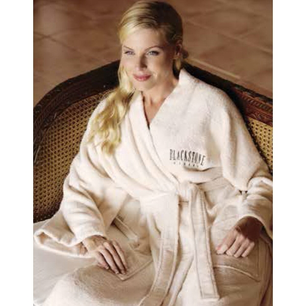493bc0224a Turkish Signature (TM) Eco-Friendly Bamboo Robe - GOimprints