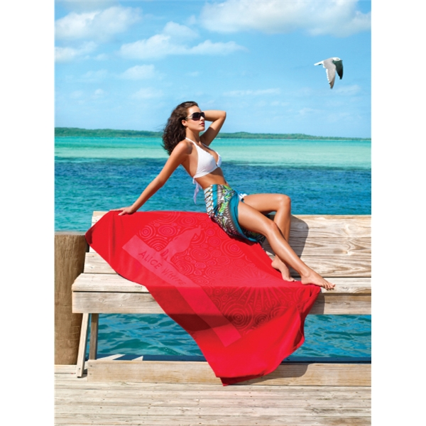 Turkish Signature (TM) Midweight Beach Towel