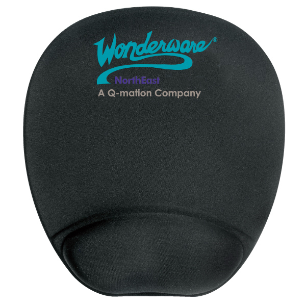 Memory Foam Mouse Mat R Mouse Pad With Wrist Rest