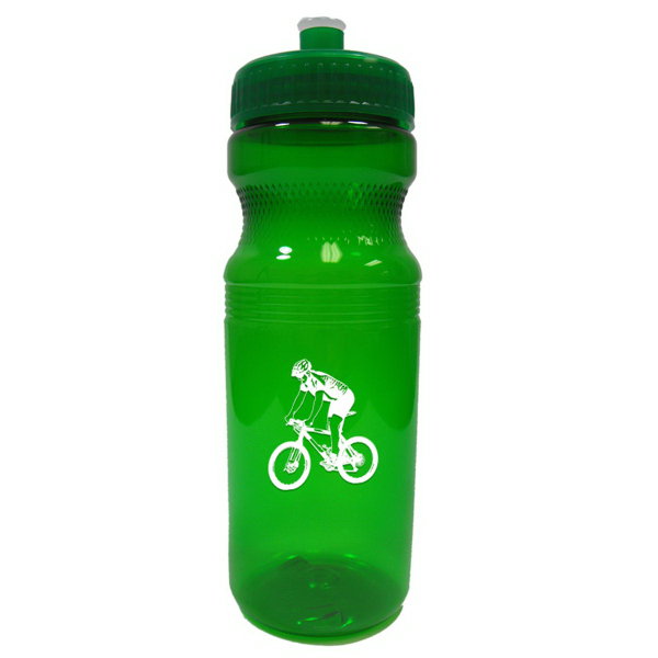 24 oz. Bike/Fitness Bottle - Trans